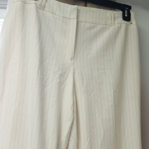 NWOT pinstripe trouser